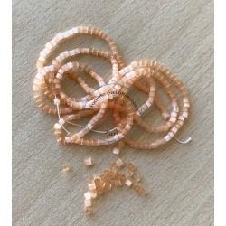 Perle tosca rose vif 9/o
