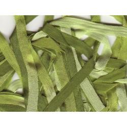 Ruban de soie 2120 dégradé 4 mm qualité française au ver à soie