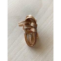soutache méatllisé gold antique 5 mm