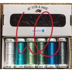 Pack de découvverte Soie d'Alger bleu