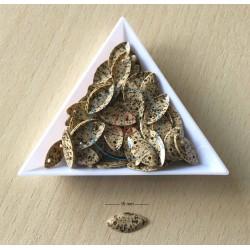 paillettes tachetées  4 mm en vrac