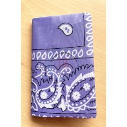 carnet de notes bandane fuchsia