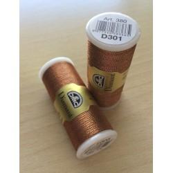 Fil à broder Diamant de DMC couleur argent 168
