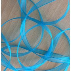 ruban mousseline turquoise 384 élégant et translucide