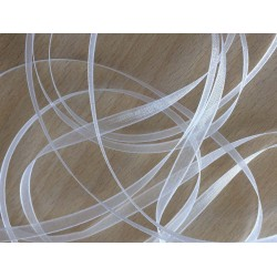 ruban mousseline blanc 272 légère et translucide