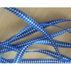 joli ruban bleu ciel Vichy 501