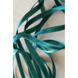 joli ruban satin couleur vert 608