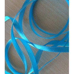 joli ruban satin couleur turquoise 384