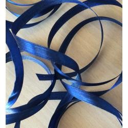 joli ruban décoratif en satin bleu 8007