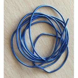 Cannetille bleu 16: ressort métallique