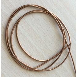 Cannetille bronze  brillant ressort métallique