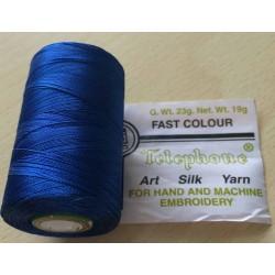 bobine rayonne  52 bleu