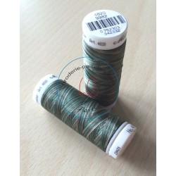 Fil multi couleur  dominante vert 9982