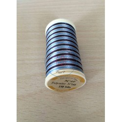 Fil métallique multicolore (argent, vert, framboise) 7029