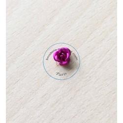 Rose en métal