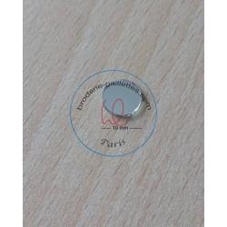 miroir shisha à coudre  disque  taille 10 mm