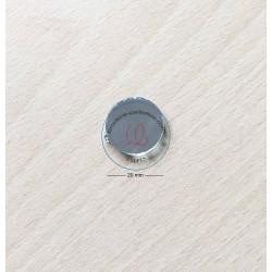 miroir shisha à coudre  disque  taille 2 cm