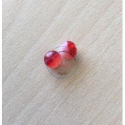 perle artisanale en verre